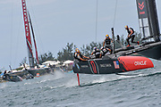 challengers Oracle Team USA skippered by Jimmy Spithill during the 35th America's Cup 2017, Day 3, on June 24, 2017 in Hamilton, Bermuda - Photo Christophe Favreau / ProSportsImages / DPPI