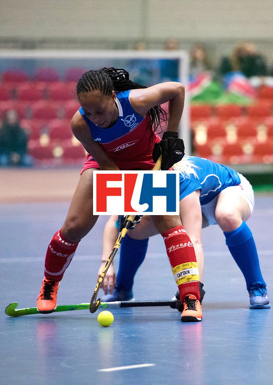 BERLIN - Indoor Hockey World Cup<br /> Czech Republic - Namibia<br /> foto: MENGO Magreth (C)<br /> WORLDSPORTPICS COPYRIGHT FRANK UIJLENBROEK