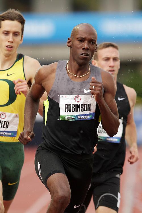 Olympic Trials Eugene 2012: men's 800 meters semifinal, Khadevis Robinson