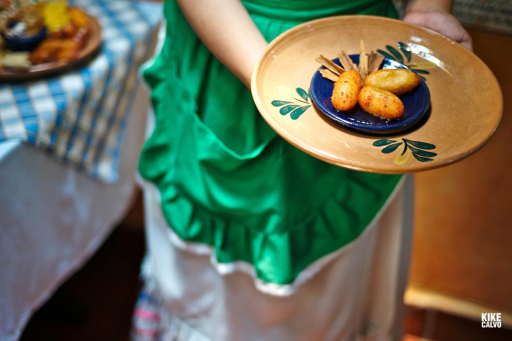 Traditional Nicaraguan food at La Cocina de Doña Haydee