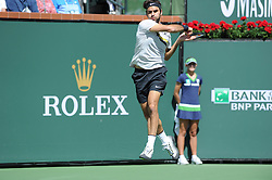 March 18, 2018 - Indian Wells, USA - Indian Wells - Palm Desert - California - Roger Federer Suisse (Credit Image: © Panoramic via ZUMA Press)
