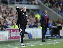 Hull City Manager, Steve Bruce - Photo mandatory by-line: Joe Meredith/JMP - Tel: Mobile: 07966 386802 22/02/2014 - SPORT - FOOTBALL - Cardiff - Cardiff City Stadium - Cardiff City v Hull City - Barclays Premier League
