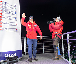 24.01.2020, Streif, Kitzbühel, AUT, FIS Weltcup Ski Alpin, Abfahrt, Herren, Startnummernauslosung, im Bild Mauro Caviezel (SUI) // Mauro Caviezel of Switzerland during the draw of starting numbers for the men's Downhill of FIS Ski Alpine World Cup at the Streif in Kitzbühel, Austria on 2020/01/24. EXPA Pictures © 2020, PhotoCredit: EXPA/ Johann Groder