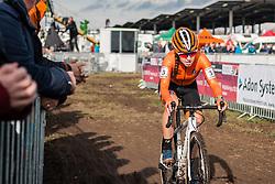 VAN ANROOIJ Shirin (NED) during Women Junior race, 2020 UCI Cyclo-cross Worlds Dübendorf, Switzerland, 1 February 2020. Photo by Pim Nijland / Peloton Photos | All photos usage must carry mandatory copyright credit (Peloton Photos | Pim Nijland)