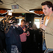 NLD/Volendam/20120309 - Jan Smit kondigt jubileum concerten aan, Jan Smit