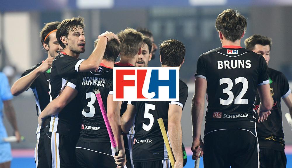 Odisha Men's Hockey World League Final Bhubaneswar 2017<br /> Match id:10<br /> India v Germany<br /> Foto: Marco Miltkau (Ger) scored a goal<br /> WORLDSPORTPICS COPYRIGHT FRANK UIJLENBROEK