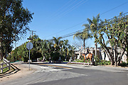 Girl Riding Her Horse In A Yorba Linda Neighborhood