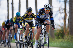 Thea Thorsen (Hitec Products) at Omloop van Borsele 2016. A 139 km road race starting and finishing in 's-Heerenhoek, Netherlands on 23rd April 2016.