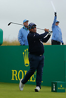 Golf - 2019 Senior Open Championship at Royal Lytham & St Annes - Fiinal Round <br /> Mauricio Molina (ARG) watches his drive off the third tee.<br /> <br /> COLORSPORT/ALAN MARTIN