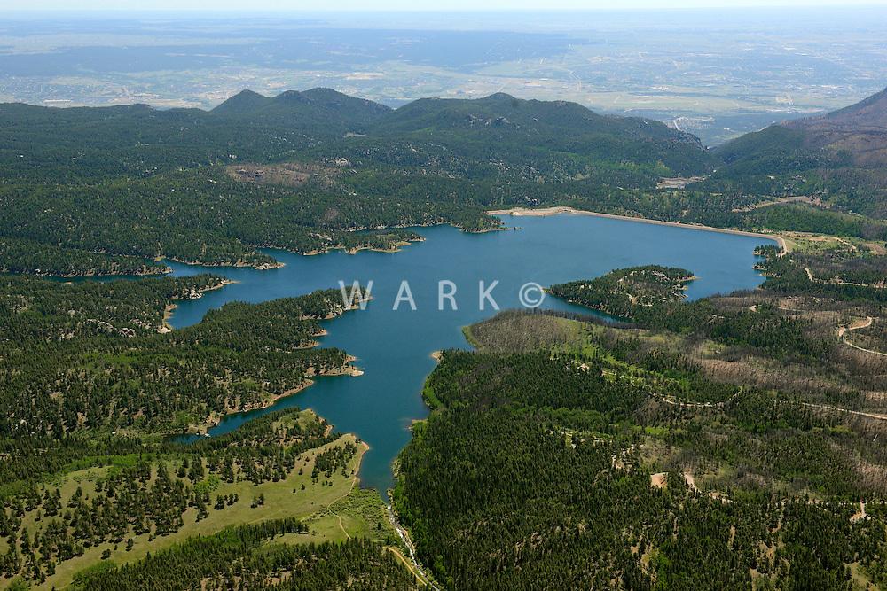 Rampart Reservoir, Colorado Springs, Colorado. June 2014. 85573