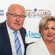 NLD/Hilversum/20190902 - Voetballer van het jaar gala 2019, Rinus Isreal en partner Greetje