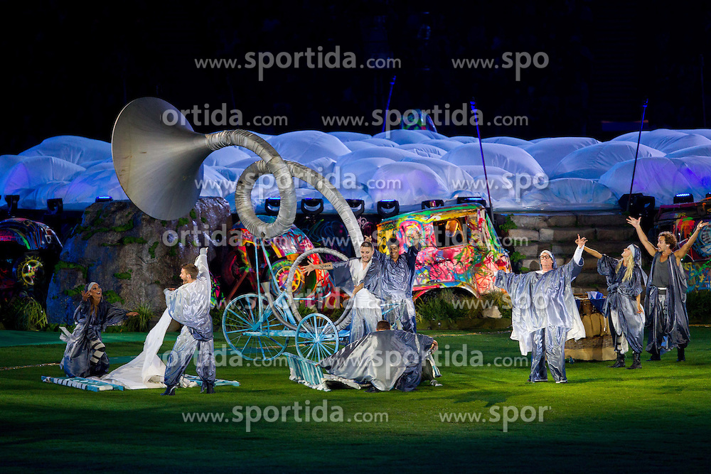 Performers during the closing ceremony of the London 2012 Paralympic Games on September 9, 2012, in Olympics stadium, Stratford, London, Great Britain. (Photo by Vid Ponikvar / Sportida.com)