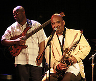 Walter Beasley (right) performs at Gilly's Niteclub in Dayton, Friday, May 11th.