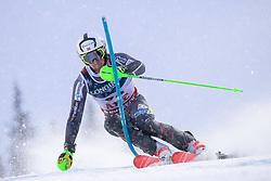 11.02.2019, Aare, SWE, FIS Weltmeisterschaften Ski Alpin, alpine Kombination, Herren, Slalom, im Bild Sebastian Foss-Solevaag (NOR) // Sebastian Foss-Solevaag of Norway reacts after the Slalom competition of the men's alpine combination for the FIS Ski World Championships 2019. Aare, Sweden on 2019/02/11. EXPA Pictures © 2019, PhotoCredit: EXPA/ Johann Groder