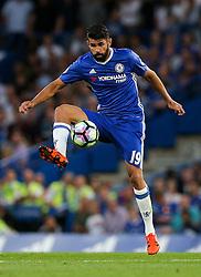 Diego Costa of Chelsea - Rogan Thomson/JMP - 15/08/2016 - FOOTBALL - Stamford Bridge Stadium - London, England - Chelsea v West Ham United - Premier League Opening Weekend.
