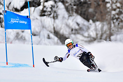 Downhill, FORSTER Anna-Lena, LW12-1, GER at the WPAS_2019 Alpine Skiing World Championships, Kranjska Gora, Slovenia