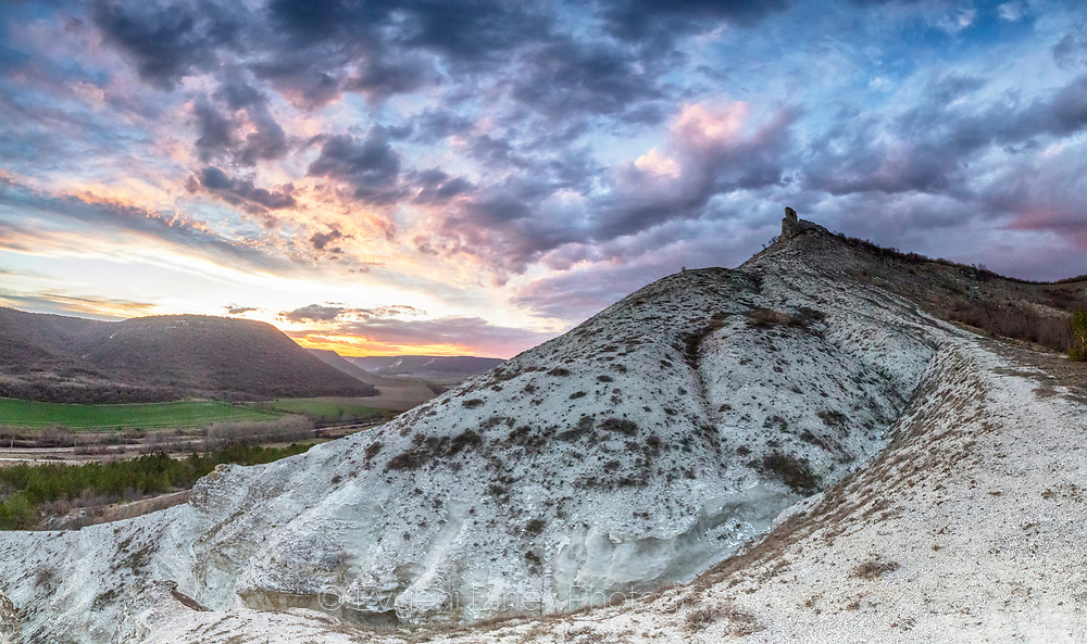 Drilled Rock near Venchan village