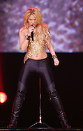 NICE, FRANCE - JUNE 05:  Singer Shakira performs at Palais Nikaia on June 5, 2011 in Nice, France.  (Photo by Tony Barson/WireImage)