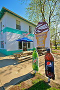 Ice Cream Parlor, Rural South Jersey, Maurice River, Delaware Bay, NJ