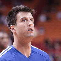 14 March 2010: Philadelphia 76ers forward Jason Kapono is seen prior to the Miami Heat 100-89 victory over the Philadelphia 76ers at the AmericanAirlines  Arena, in Miami, Florida, USA.