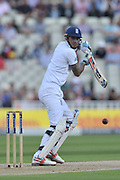 Alex Hales of England steers down to third man during the International Test Series 2016 match between England and Pakistan at Edgbaston, Birmingham, United Kingdom on 3 August 2016. Photo by Simon Trafford.