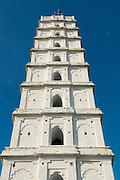 Minaret at the Nagore Durgah Shareef.