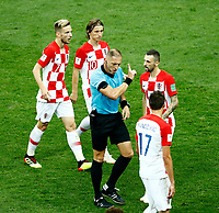 croatia protests with the referee<br /> Moscow 15-07-2018 Football FIFA World Cup Russia  2018 Final / Finale <br /> France - Croatia / Francia - Croazia <br /> Foto Matteo Ciambelli/Insidefoto