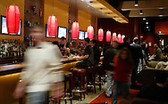 The bar area at Lucky Strike Lanes at the Palisades Center mall in West Nyack on Jan. 12, 2007.
