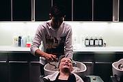 Content Magazine & Umbrella Salon Image Challenge 13. <br /> Photo: Scott MacDonald<br /> Model: Charlotte Blanc<br /> Hair: Jan-Michael Mactuay<br /> Makeup: Gizelle Morales