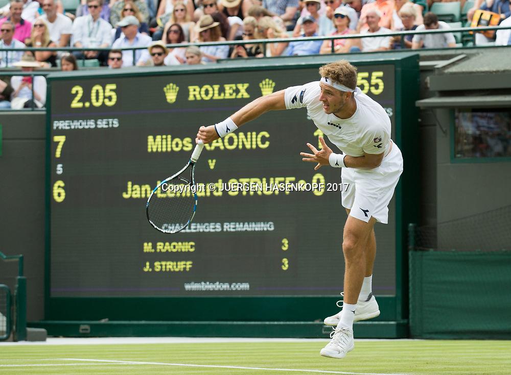 JAN-LENNARD STRUFF (GER)<br /> <br /> Tennis - Wimbledon 2016 - Grand Slam ITF / ATP / WTA -  AELTC - London -  - Great Britain  - 4 July 2017.