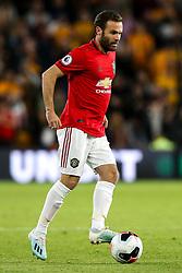 Juan Mata of Manchester United - Mandatory by-line: Robbie Stephenson/JMP - 19/08/2019 - FOOTBALL - Molineux - Wolverhampton, England - Wolverhampton Wanderers v Manchester United - Premier League