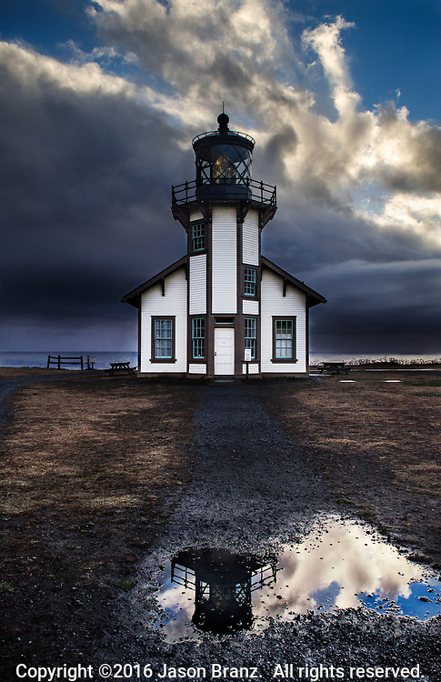 Point Cabrillo Lighthouse, Mendocino County, California