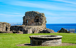 The ruins of St Andrews Castle, St Andrews, Fife, Scotland<br /> <br /> (c) Andrew Wilson | Edinburgh Elite media
