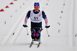 HALSTED Sean, USA at the 2014 IPC Nordic Skiing World Cup Finals - Middle Distance