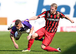 07.05.2016, Generali Arena, Wien, AUT, 1. FBL, FK Austria Wien vs FC Admira Wacker Moedling, 34. Runde, im Bild Lucas Venuto (FK Austria Wien) und Thomas Ebner (FC Admira Wacker Moedling) // during Austrian Football Bundesliga Match, 34th Round, between FK Austria Vienna and FC Admira Wacker Moedling at the Generali Arena, Vienna, Austria on 2016/05/07. EXPA Pictures © 2016, PhotoCredit: EXPA/ Thomas Haumer