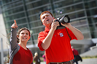 PRTM students document downtown Raleigh attractions.