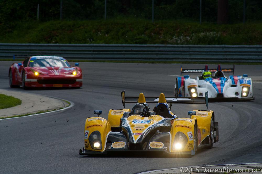 #85 JDC/Miller Motorsports ORECA FLM09: Mikhail Goikhberg, TBA