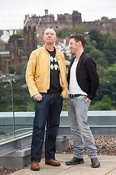 Filth photocall with Irvine Welsh and James McAvoy.<br /> &copy;Michael Schofield.