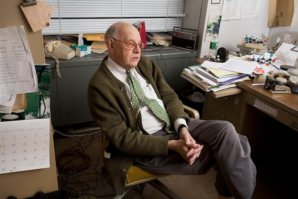 Prof. John Bové, former chair of the Cooper Union chemistry department.