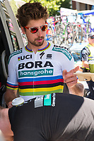 Peter Sagan at the start of Stage 1, Port Adelaide to Lyndoch, of the Tour Down Under, Australia on the 16 of January 2018 ( Credit Image: © Gary Francis / ZUMA WIRE SERVICE )