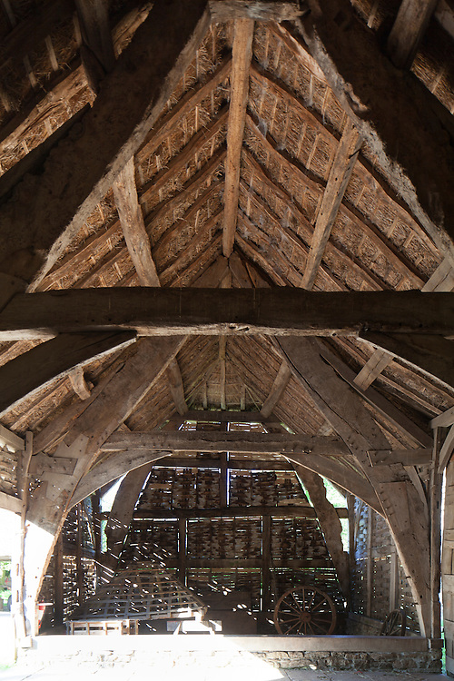 The Threshing Barn at Avoncroft Museum of Historic Buildings