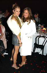 Left to right, SIENNA MILLER and JADE JAGGER at the Moet & Chandon Fashion Tribute 2005 to Matthew Williamson, held at Old Billingsgate, City of London on 16th February 2005.<br /><br />NON EXCLUSIVE - WORLD RIGHTS