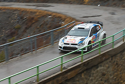 17.01.2014, Sisteron, FRA, FIA, WRC, Monte Carlo, 2. Tag, im Bild OGIER Sebastien / INGRASSIA Julien ( VOLKSWAGEN MOTORSPORT (DEU) / VOLKSWAGEN POLO R ) during day two of FIA Rallye Monte Carlo held near Monte Carlo, France on 2014/01/17. EXPA Pictures © 2014, PhotoCredit: EXPA/ Eibner-Pressefoto/ Neis<br /> <br /> *****ATTENTION - OUT of GER*****