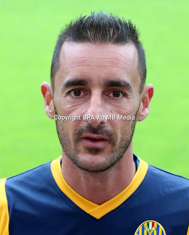 Italian League Serie A -2014-2015 / <br /> ( Hellas Verona FC ) - <br /> Alessandro Agostini