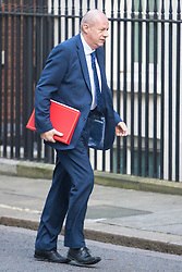 Downing Street, London, January 17th 2017. Work and Pensions Secretary Damian Green arrives at the weekly cabinet meeting at 10 Downing Street.