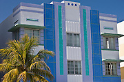 The Park Central Hotel South Beach, in Ocean Drive, South Beach, Miami, Floriday, USA