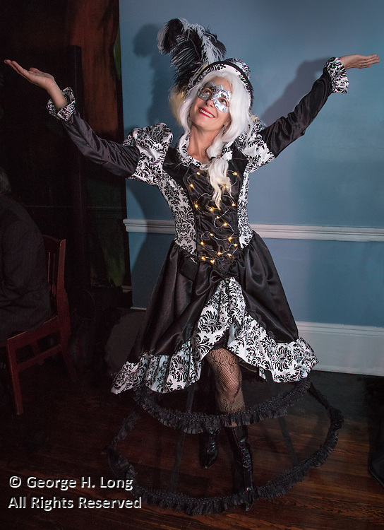 The Secret Society of St. Anne Ball in The Paris Room at Cafe Soule in the French Quarter of New Orleans on February 25, 2017