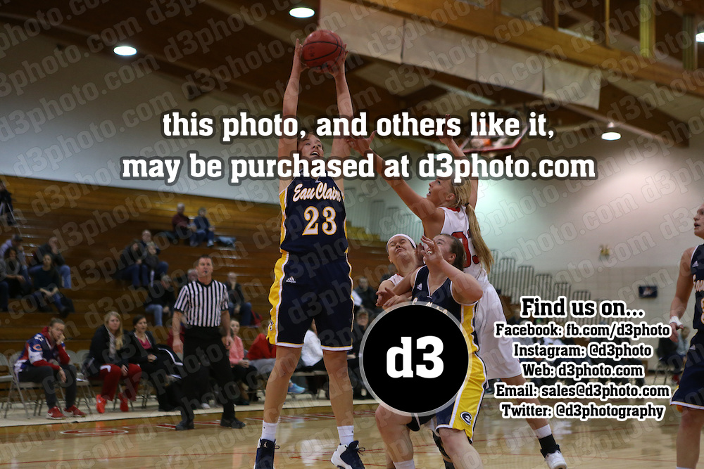 Saint Mary's defeated UW-Eau Claire 65-49 in non-conference action on Sunday, December 12 in Winona, Minnesota.