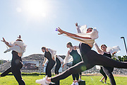 GU students performed an original dance. (Photo by Zack Berlat)