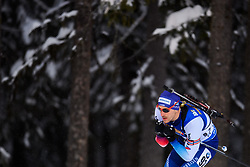 March 9, 2019 - –Stersund, Sweden - 190309 Martin Jäger of Switzerland competes in the Men's 10 KM sprint during the IBU World Championships Biathlon on March 9, 2019 in Östersund..Photo: Petter Arvidson / BILDBYRÃ…N / kod PA / 92252 (Credit Image: © Petter Arvidson/Bildbyran via ZUMA Press)